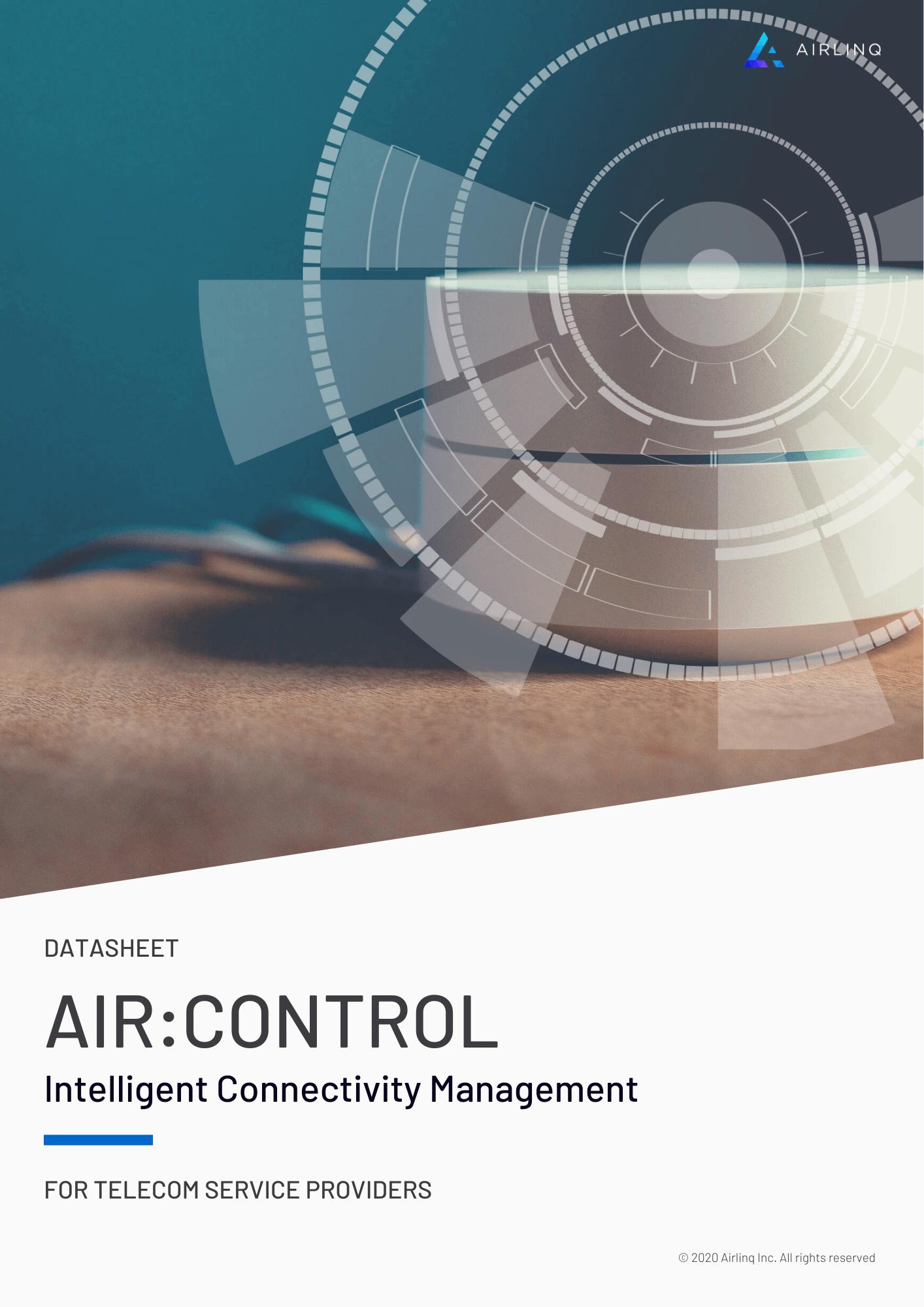 AIR:CONTROL Intelligent Connectivity Management