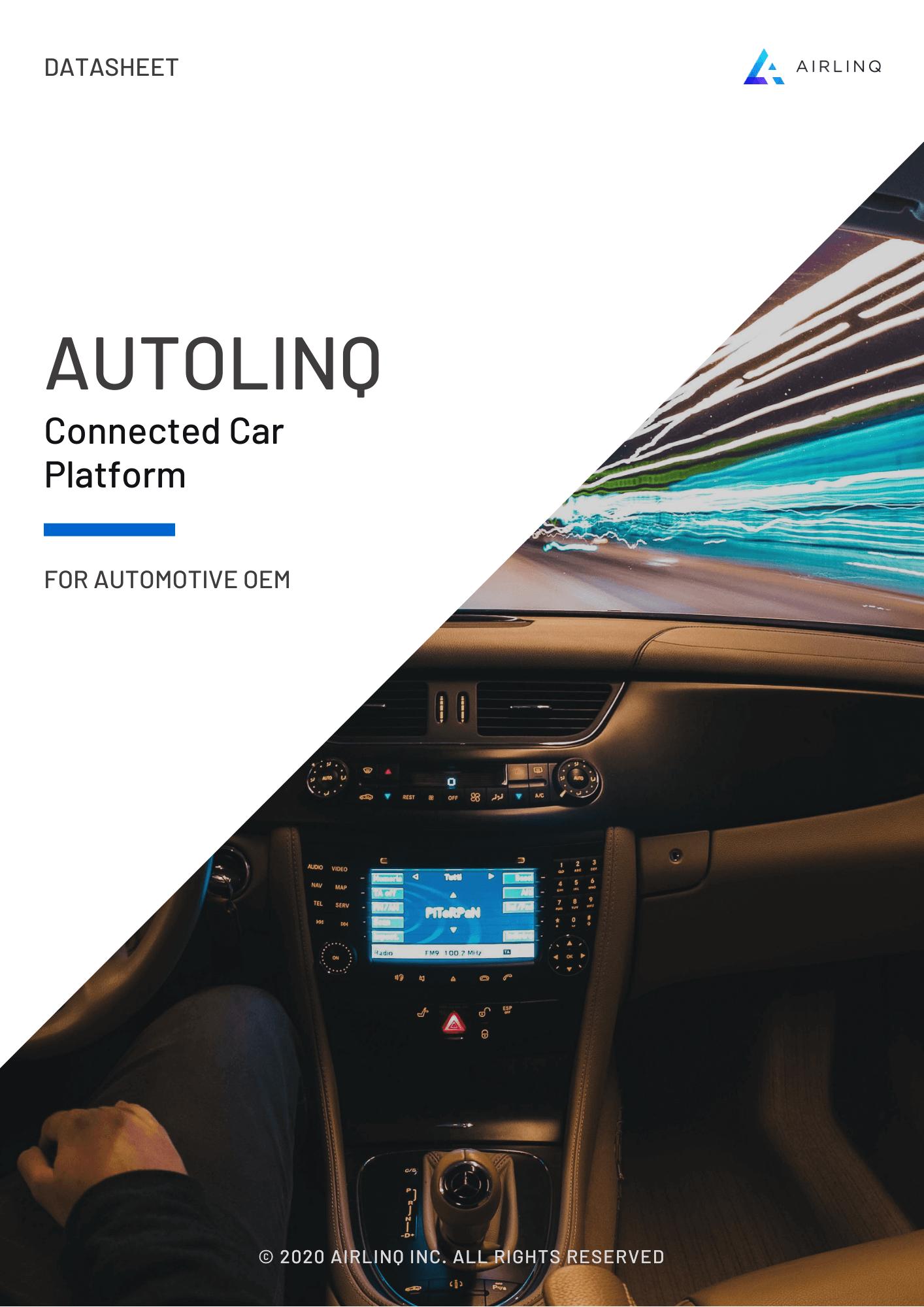 AUTOLINQ – Connected Car Platform